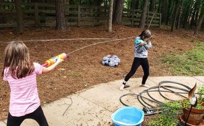 water fight fun