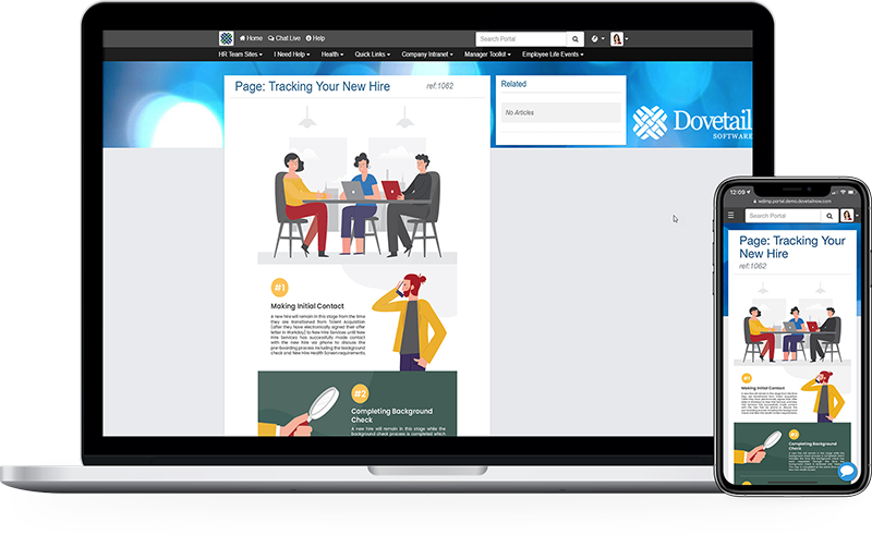 Dovetail employee experience infographics